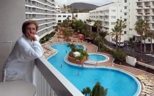 Вид с отеля