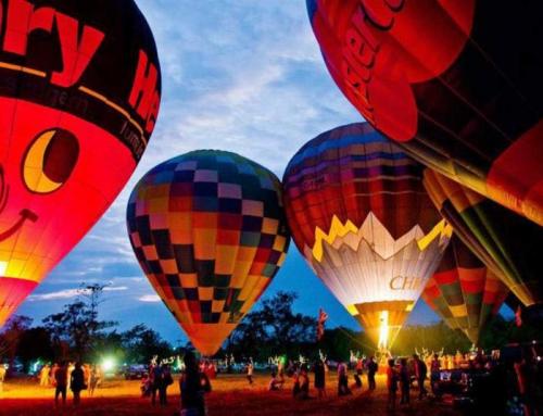 Первый фестиваль воздушных шаров в Хошимине